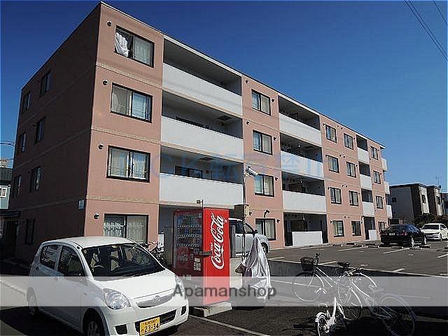 北海道札幌市西区、発寒中央駅徒歩17分の築10年 4階建の賃貸マンション