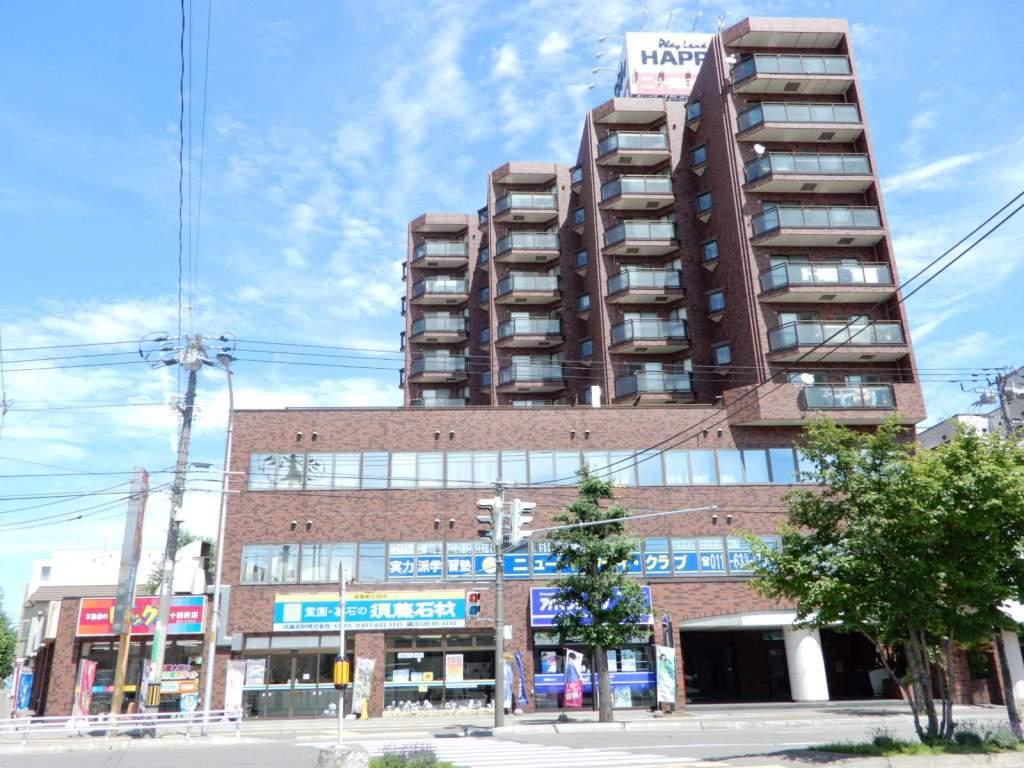 北海道札幌市西区、琴似駅徒歩9分の築27年 10階建の賃貸マンション