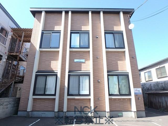 北海道札幌市西区、発寒駅徒歩19分の築13年 2階建の賃貸アパート