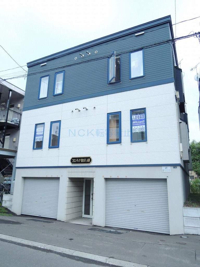 北海道札幌市西区、発寒駅徒歩11分の築12年 3階建の賃貸アパート