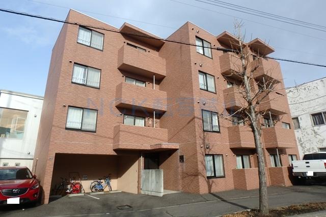 北海道札幌市西区、琴似駅徒歩16分の築15年 4階建の賃貸マンション