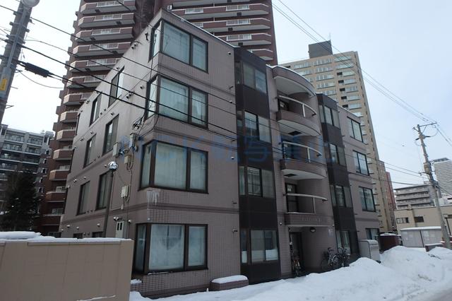 北海道札幌市西区、琴似駅徒歩4分の築26年 4階建の賃貸マンション