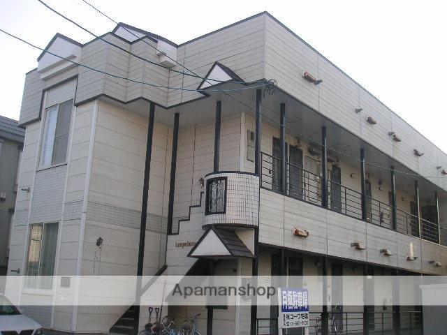 北海道札幌市西区、八軒駅徒歩9分の築28年 2階建の賃貸アパート