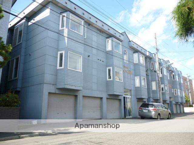 北海道札幌市西区、琴似駅徒歩20分の築24年 3階建の賃貸アパート