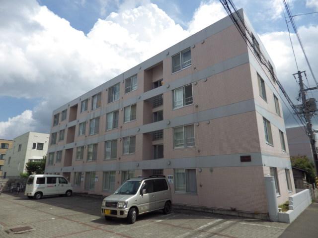 北海道札幌市西区、琴似駅徒歩25分の築28年 4階建の賃貸マンション