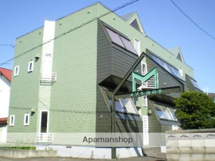 北海道札幌市西区、発寒南駅徒歩18分の築27年 2階建の賃貸アパート