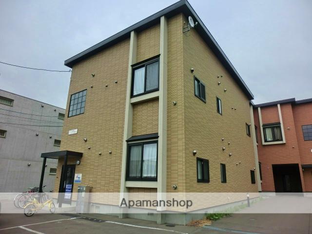 北海道札幌市西区、発寒駅徒歩7分の築11年 2階建の賃貸アパート