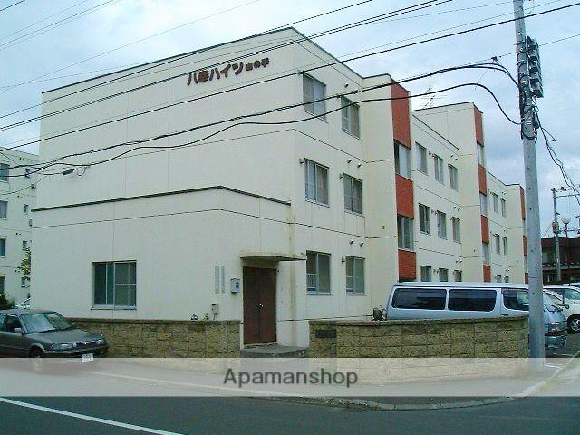 北海道札幌市西区、発寒南駅徒歩20分の築34年 3階建の賃貸マンション
