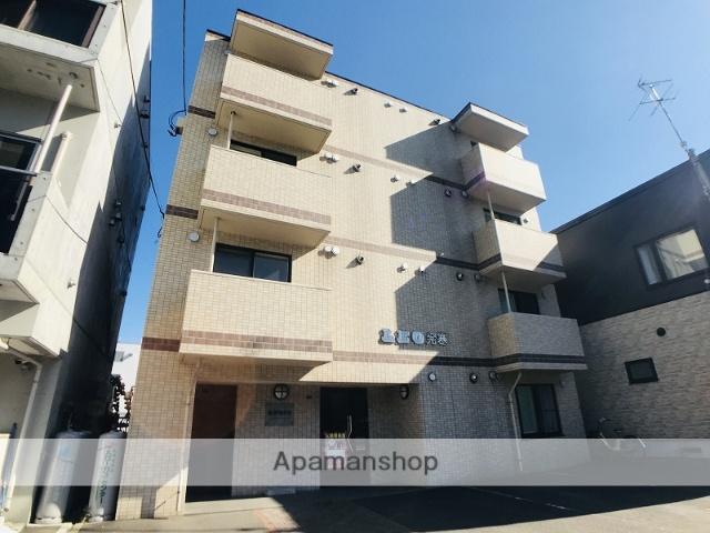 北海道札幌市西区、発寒駅徒歩13分の築11年 4階建の賃貸マンション
