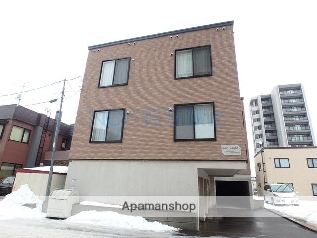 北海道札幌市西区、発寒中央駅徒歩20分の築11年 3階建の賃貸アパート