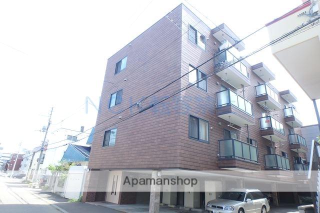北海道札幌市西区、琴似駅徒歩16分の築14年 4階建の賃貸マンション