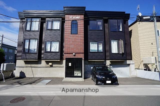 北海道札幌市西区、発寒駅徒歩13分の築18年 3階建の賃貸アパート