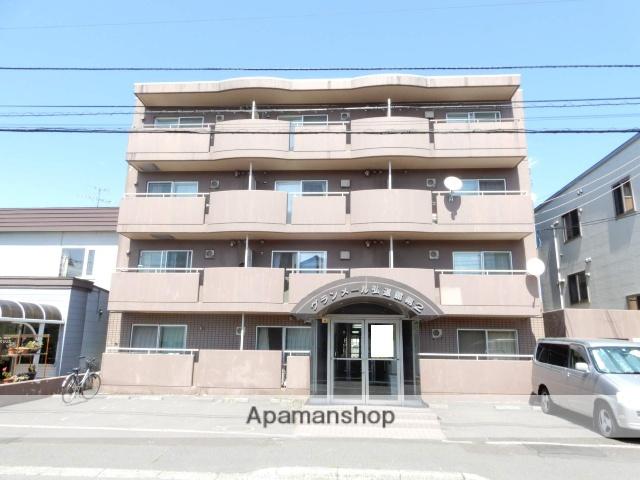 北海道札幌市西区、琴似駅徒歩10分の築28年 4階建の賃貸マンション