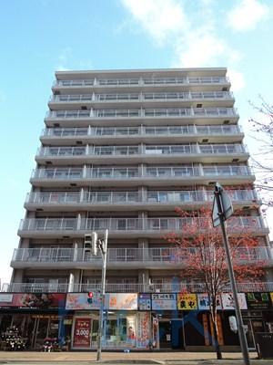 北海道札幌市西区、琴似駅徒歩4分の築33年 11階建の賃貸マンション