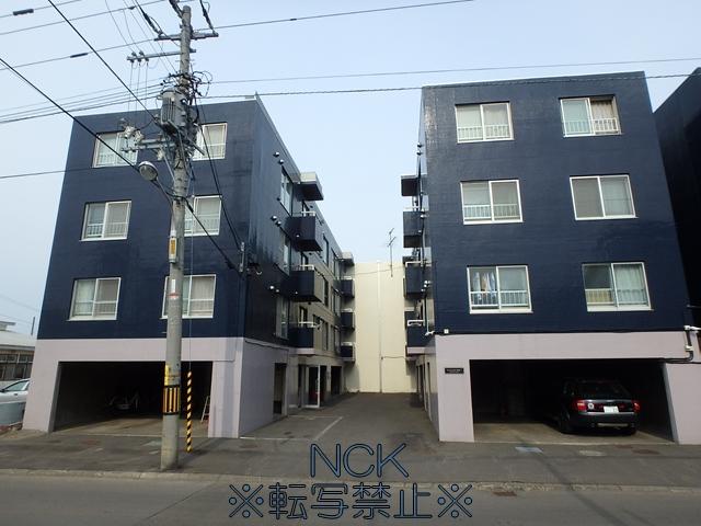 北海道札幌市西区、発寒中央駅徒歩19分の築26年 4階建の賃貸マンション