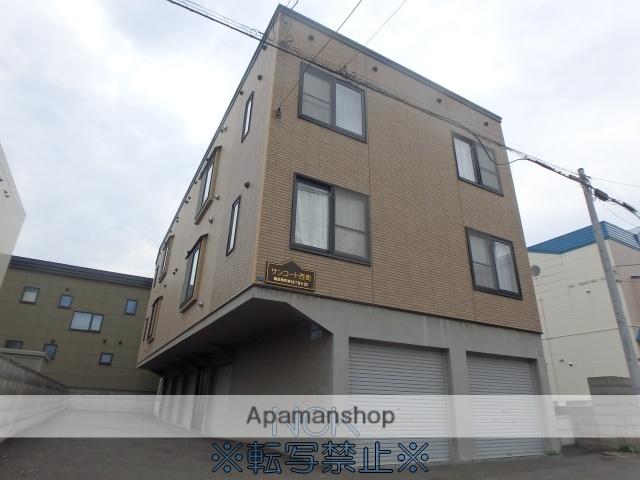 北海道札幌市西区、宮の沢駅徒歩12分の築14年 3階建の賃貸アパート