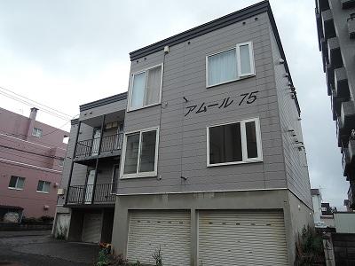 北海道札幌市西区、発寒中央駅徒歩6分の築26年 3階建の賃貸アパート