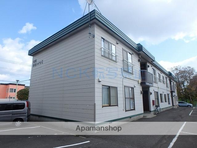 北海道札幌市手稲区、稲穂駅徒歩2分の築29年 2階建の賃貸アパート