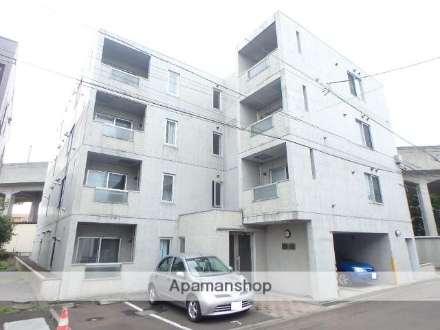 北海道札幌市西区、琴似駅徒歩22分の築10年 4階建の賃貸マンション