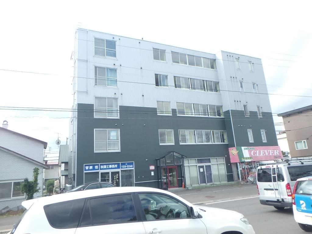 北海道札幌市西区、八軒駅徒歩12分の築25年 5階建の賃貸マンション