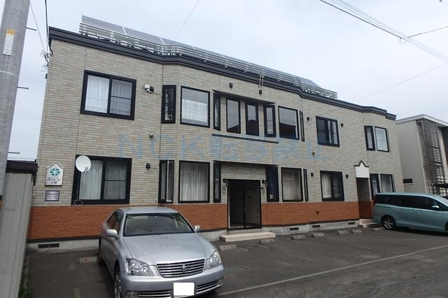 北海道札幌市西区、琴似駅徒歩22分の築12年 2階建の賃貸アパート