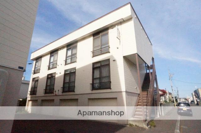北海道札幌市手稲区、手稲駅徒歩25分の築34年 2階建の賃貸アパート