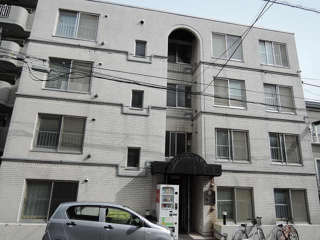 北海道札幌市西区、琴似駅徒歩6分の築30年 4階建の賃貸マンション