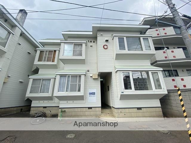 北海道札幌市西区、琴似駅徒歩11分の築29年 2階建の賃貸アパート