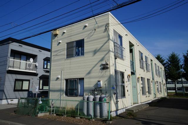 北海道札幌市手稲区、手稲駅JRバスバス15分工業大学前下車後徒歩4分の築29年 2階建の賃貸アパート
