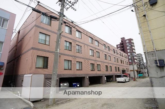北海道札幌市西区、琴似駅徒歩13分の築28年 4階建の賃貸マンション