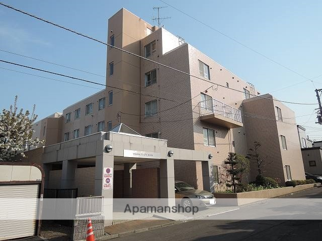 北海道札幌市西区、琴似駅JRバスバス17分北海道医療センター前下車後徒歩4分の築28年 5階建の賃貸マンション