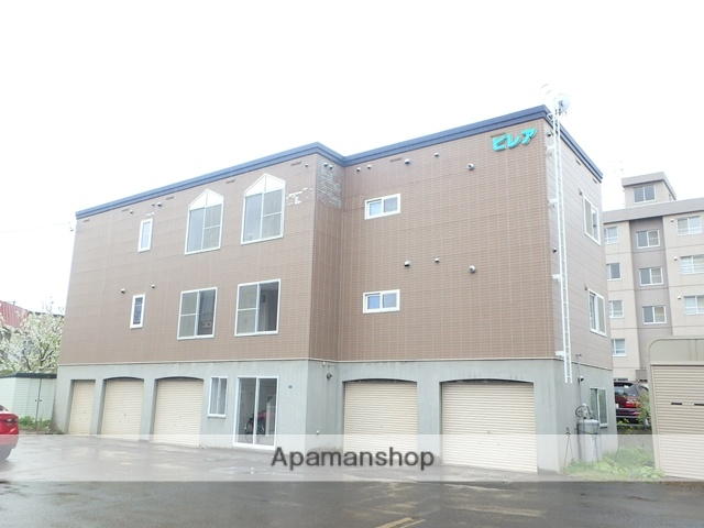 北海道札幌市西区、発寒中央駅徒歩5分の築19年 3階建の賃貸アパート