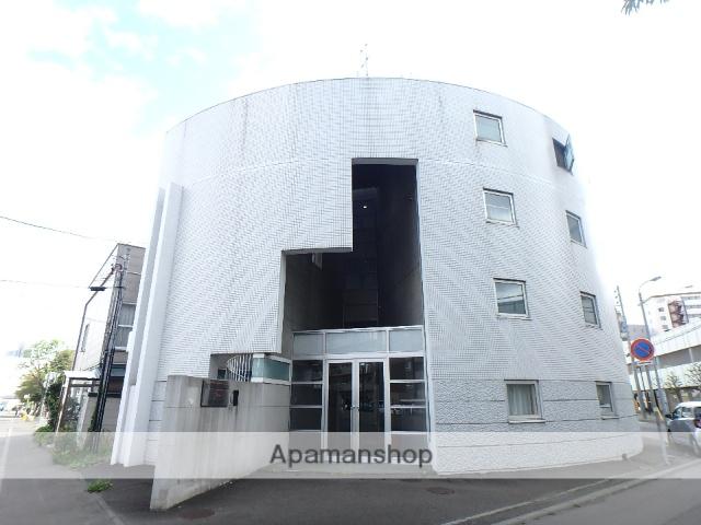 北海道札幌市西区、琴似駅徒歩3分の築25年 4階建の賃貸マンション