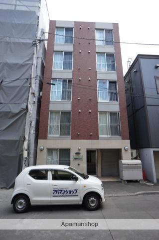 北海道札幌市西区、琴似駅徒歩12分の築6年 5階建の賃貸マンション