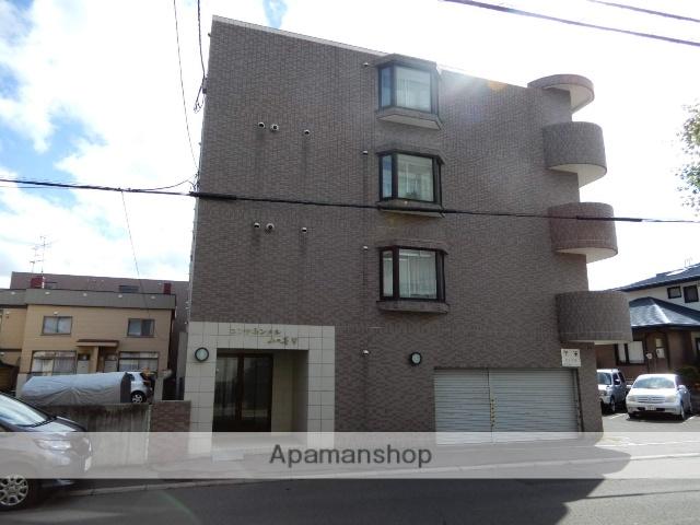 北海道札幌市西区、琴似駅徒歩20分の築17年 4階建の賃貸マンション