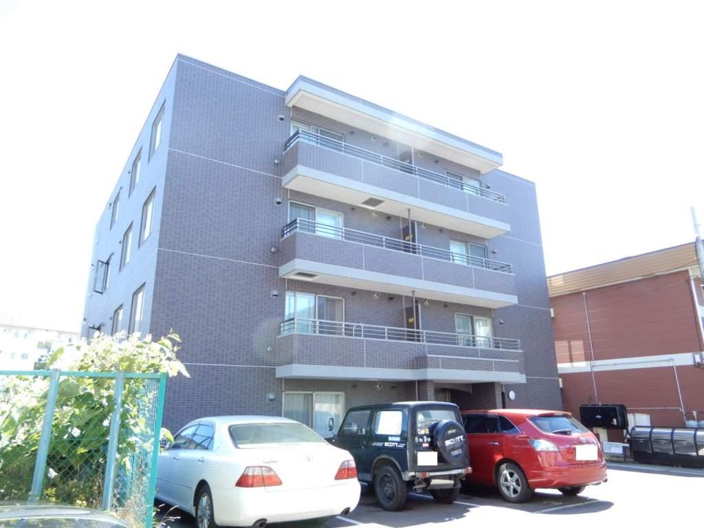 北海道札幌市西区、琴似駅徒歩16分の築3年 4階建の賃貸マンション