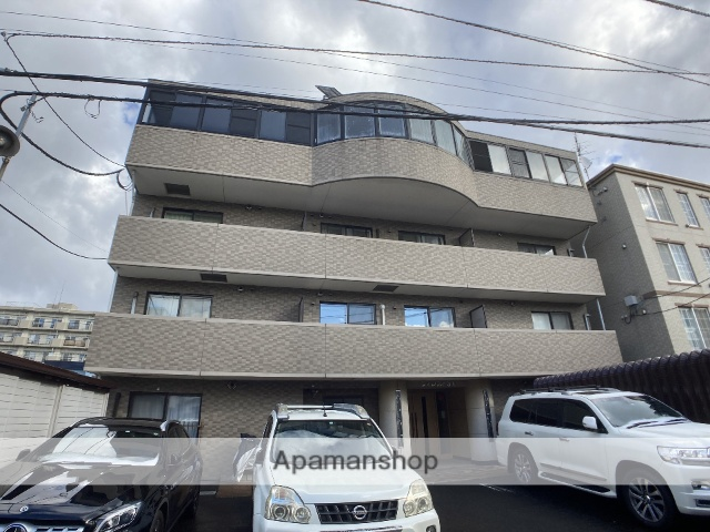北海道札幌市西区、琴似駅徒歩8分の築16年 4階建の賃貸マンション