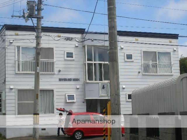 北海道札幌市西区、発寒南駅徒歩12分の築29年 2階建の賃貸アパート
