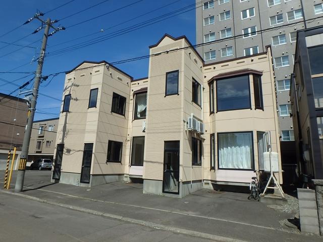 北海道札幌市西区、発寒中央駅徒歩25分の築21年 2階建の賃貸アパート