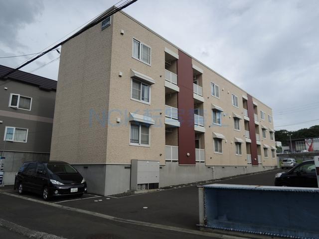 北海道札幌市手稲区、星置駅徒歩29分の築13年 3階建の賃貸アパート