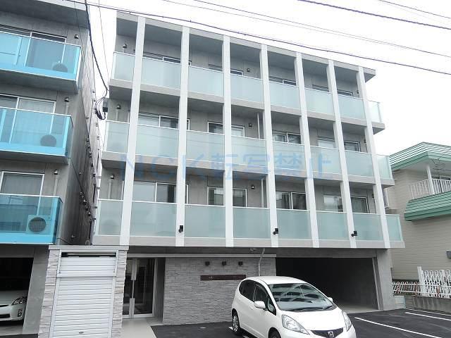 北海道札幌市西区、琴似駅徒歩14分の築2年 4階建の賃貸マンション