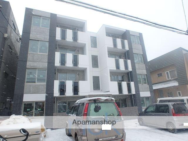 北海道札幌市手稲区、手稲駅徒歩10分の築2年 4階建の賃貸マンション
