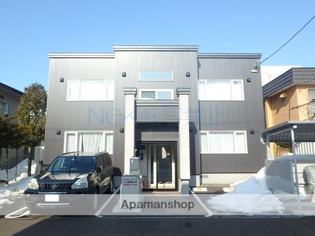 北海道札幌市手稲区、手稲駅徒歩8分の築2年 2階建の賃貸アパート