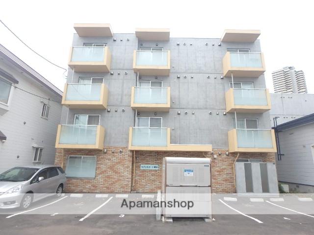 北海道札幌市西区、琴似駅徒歩5分の築1年 4階建の賃貸マンション