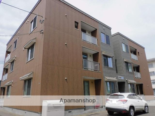 北海道札幌市西区、発寒中央駅徒歩11分の築1年 3階建の賃貸アパート