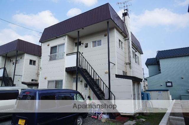 北海道札幌市手稲区、手稲駅徒歩13分の築35年 2階建の賃貸アパート