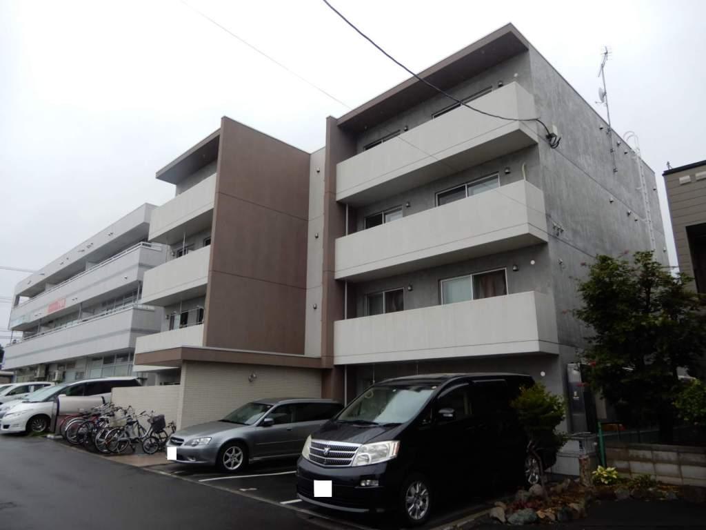 北海道札幌市西区、宮の沢駅西警察署前バス9分JRバス下車後徒歩2分の新築 4階建の賃貸マンション