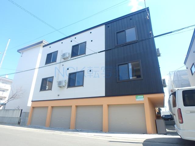 北海道札幌市西区、発寒駅徒歩25分の新築 3階建の賃貸アパート