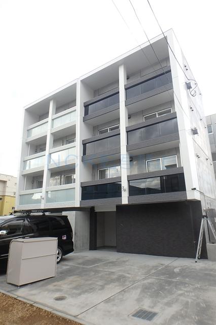 北海道札幌市西区、琴似駅徒歩8分の新築 4階建の賃貸マンション
