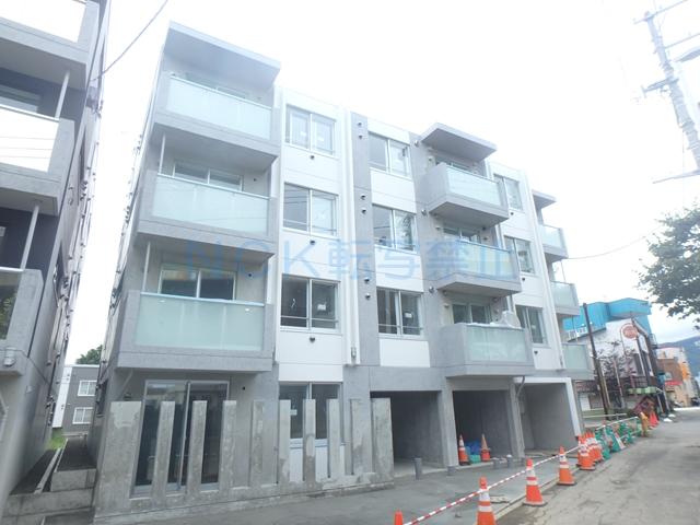 北海道札幌市西区、発寒中央駅徒歩10分の新築 4階建の賃貸マンション